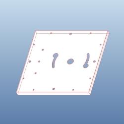 아크릴사각직부,센서 ASS-2